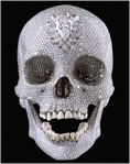 Hirst's Diamond Studded Skull