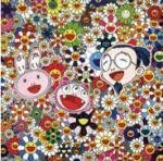A Murakami Flat Painting